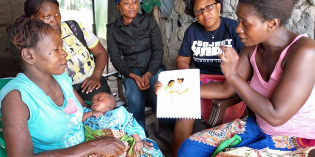 Kangaroo Mother Care Brings HOPE to Mothers in Sierra Leone share