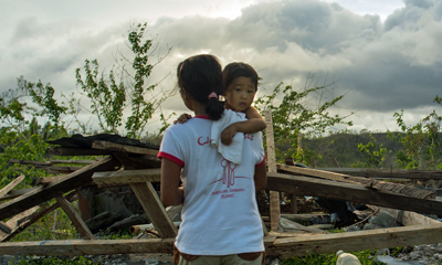 Project HOPE is bringing hope back to victims of Typhoon Haiyan in the Municipality of Tapaz