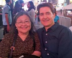 Teresa Shu and husband Matt Lesher