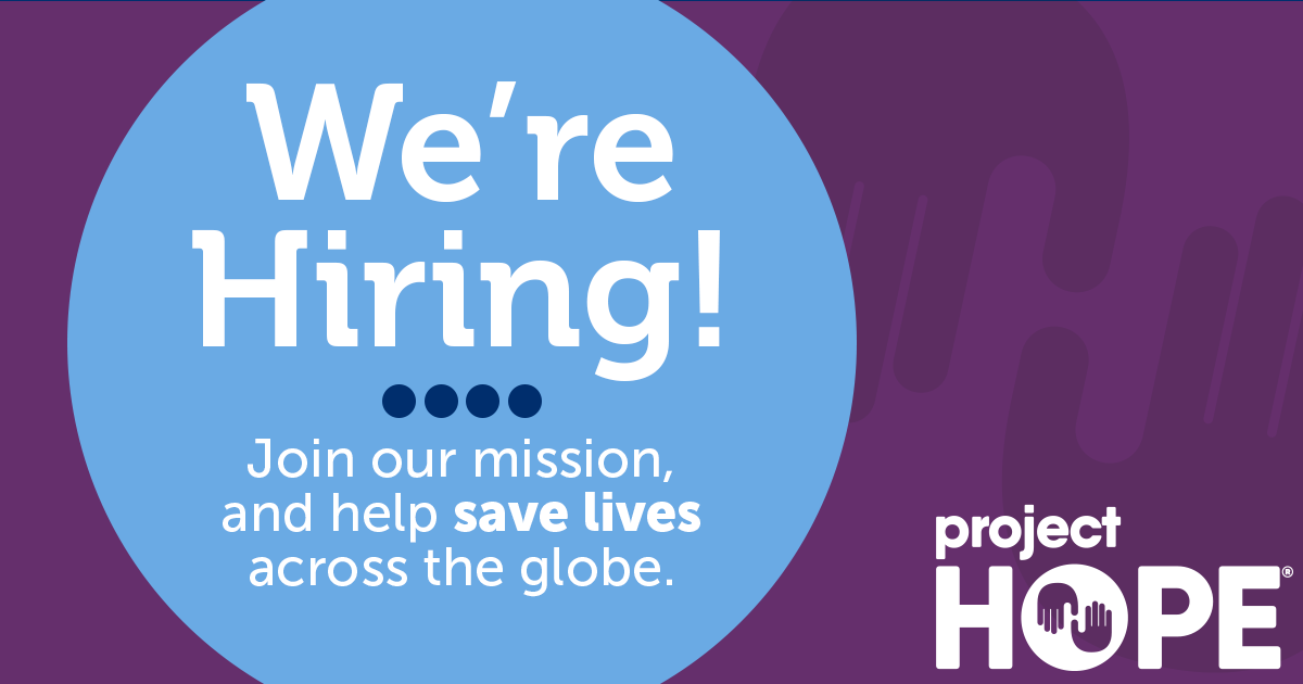 Careers at Project HOPE | Project HOPE