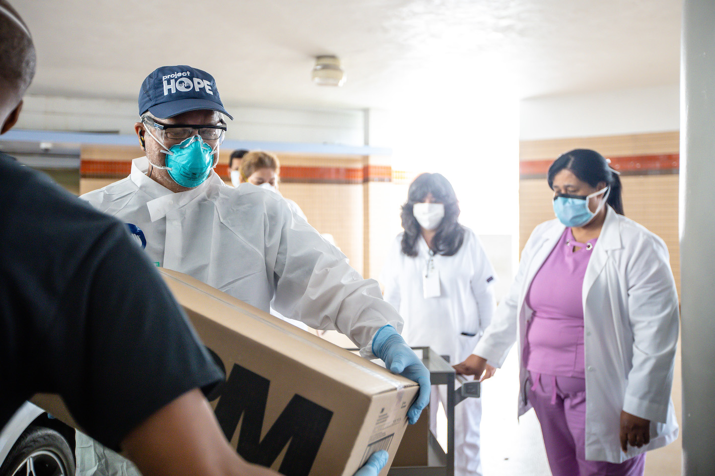 PPE delivery in Puerto Rico